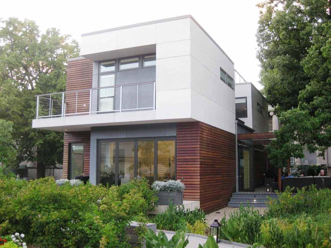 Eco Green Home Architecture