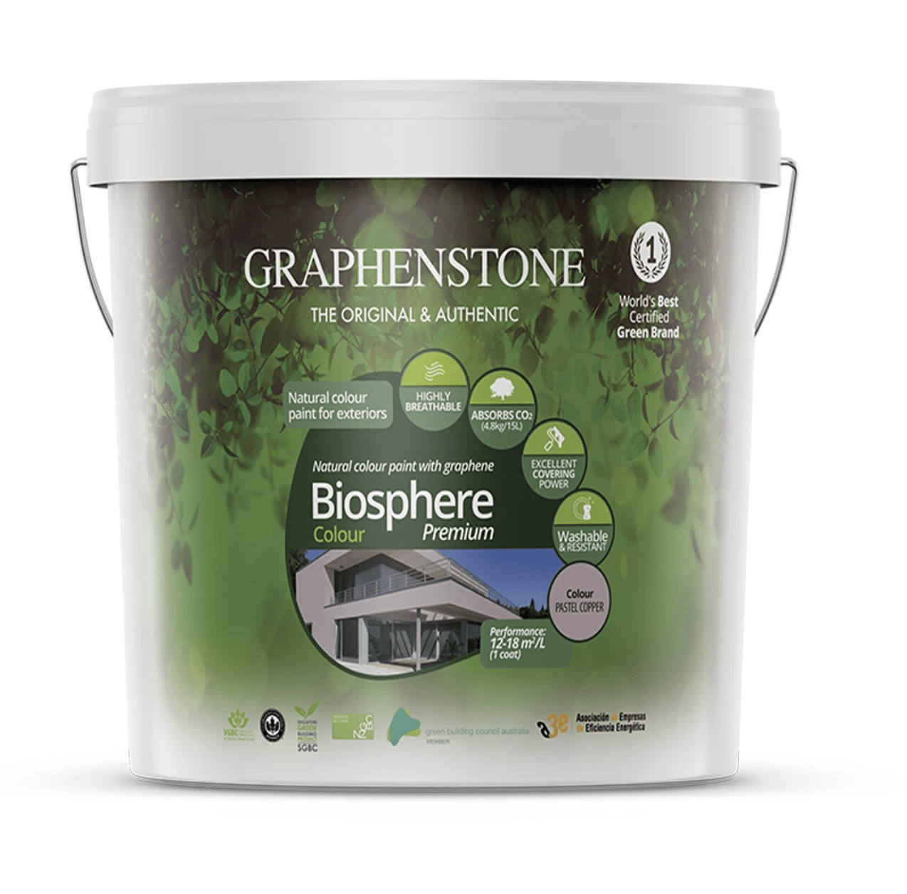 Graphenstone Biosphere Exterior Natural Paint